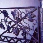Кованые каминные решетки