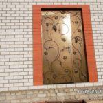 Кованые двери