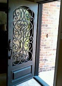 Решетка для двери сварная РДC - 001